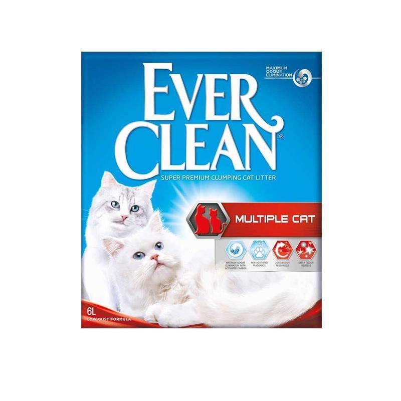 Ever Clean Multiple Cat Kedi Kumu 6 Lt