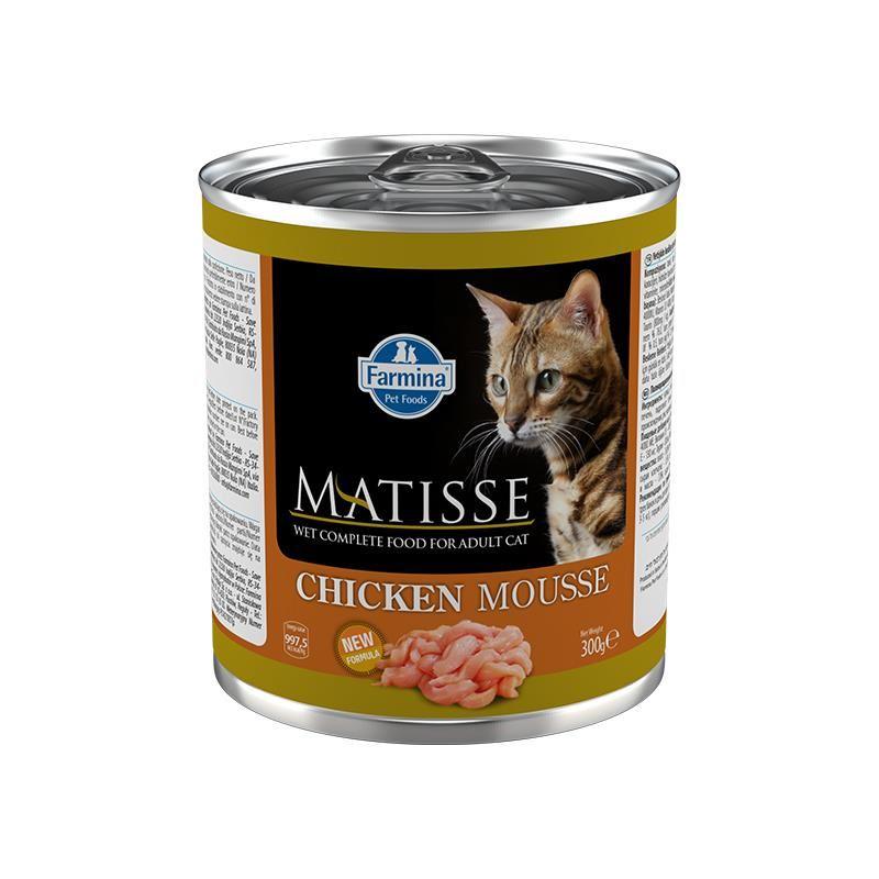 Matisse Mousse Tavuklu Kedi Konservesi 300 Gr