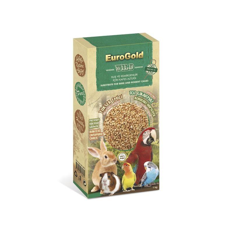 Eurogold Kuş Ve Kemirgen Kafes Altlığı Taban Malzemesi 1 Kg