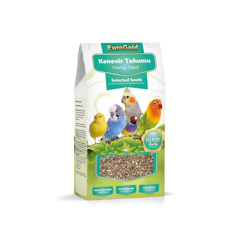 Eurogold Kenevir Tohumu Kuş Yemi 200 gr