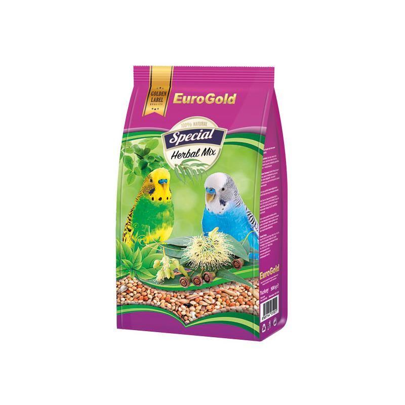 EuroGold Special Okaliptuslu Muhabbet Kuşu Yemi 500 gr