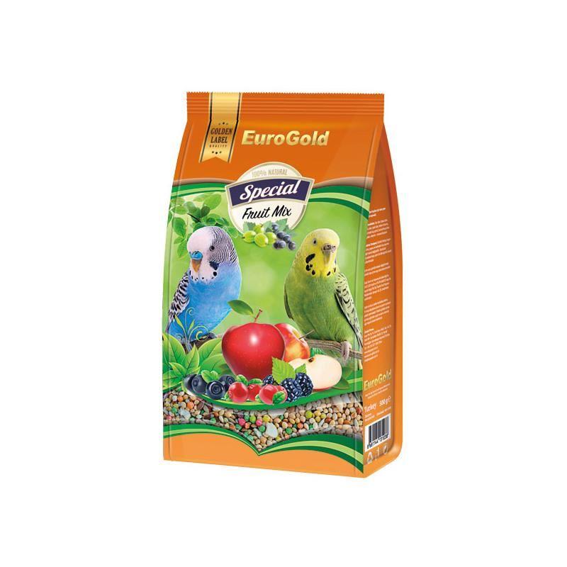 EuroGold Special Meyveli Muhabbet Kuşu Yemi 500 gr