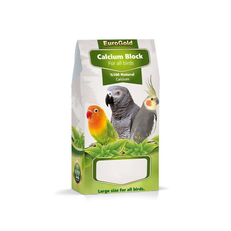 Eurogold Papağan ve Paraket Kalsiyum Bloğu