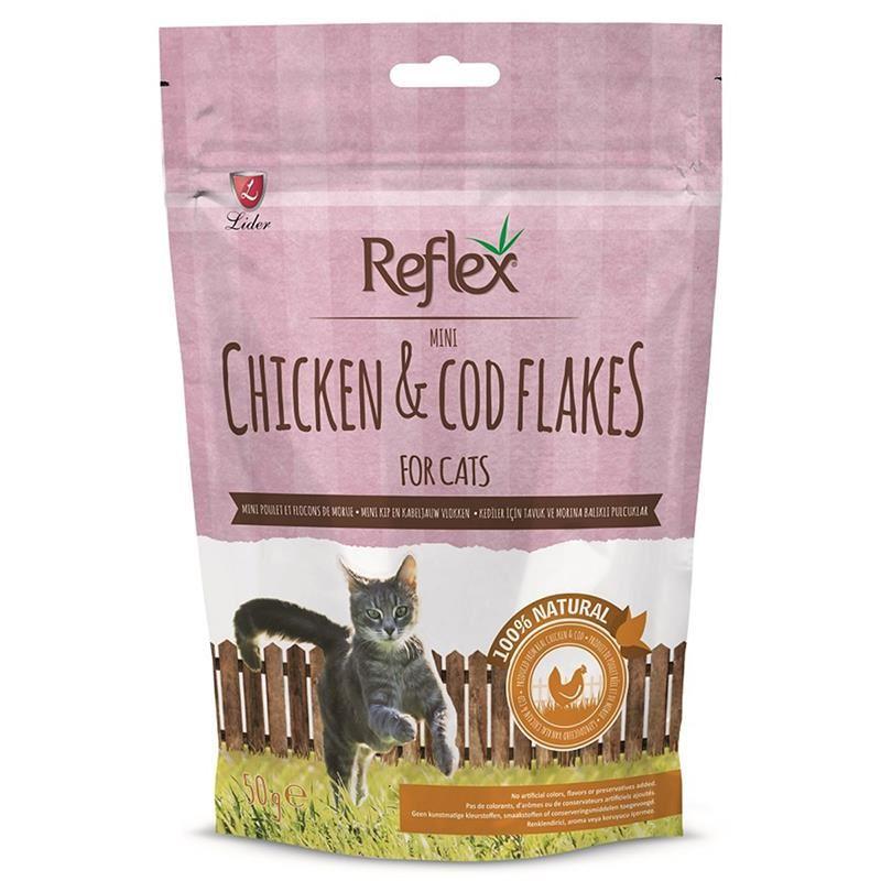 Reflex Tavuklu Morina Balıklı Kedi Ödülü 50 Gr