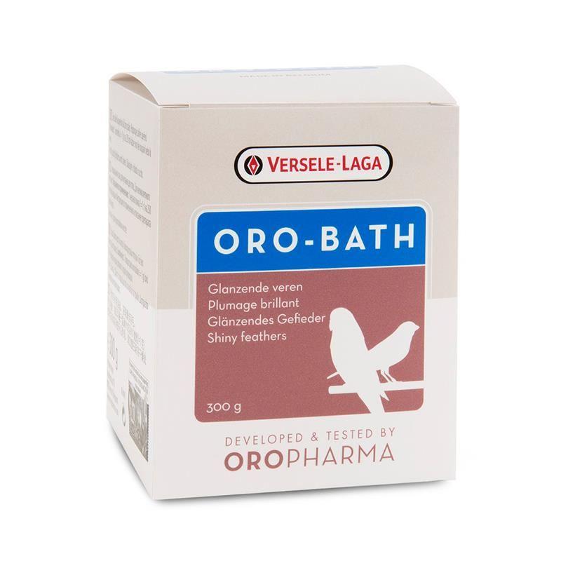 Versele Laga Oropharma Oro-Bath Kafes Kuşları İçin Tüy Parlatıcı Banyo Tuzu 300 Gr