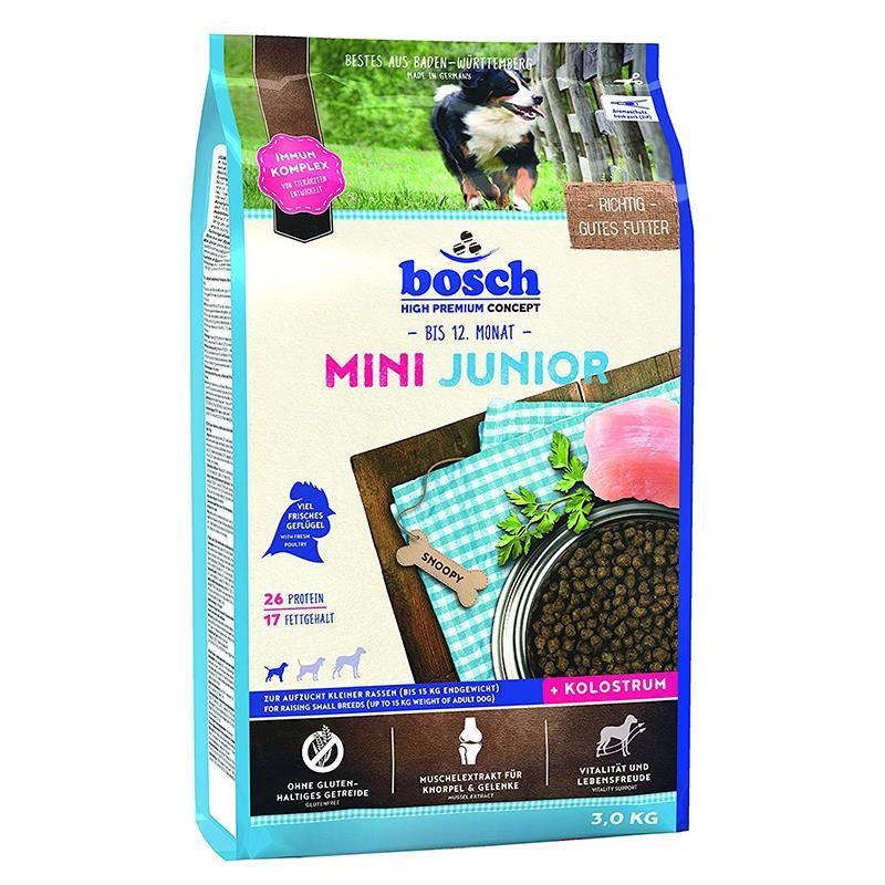 Bosch Mini Junior Tahılsız Yavru Köpek Maması 3 Kg