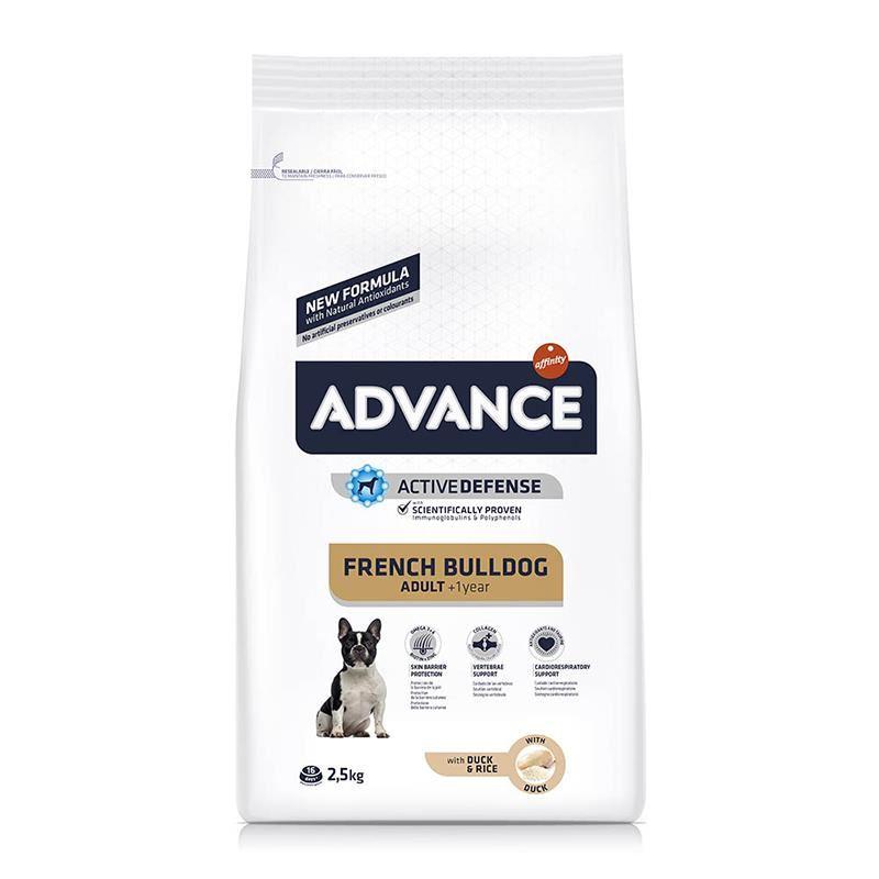 Advance French Bulldog Yetişkin Köpek Maması 2,5 Kg