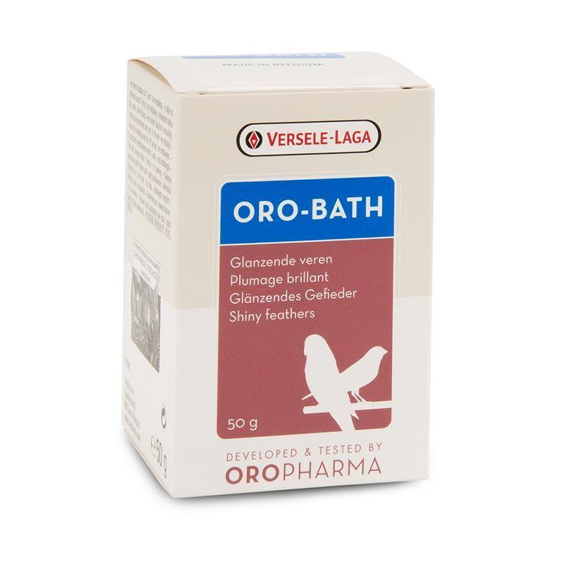 Versele Laga Oropharma Oro-Bath Kafes Kuşları İçin Tüy Parlatıcı Banyo Tuzu 50 Gr