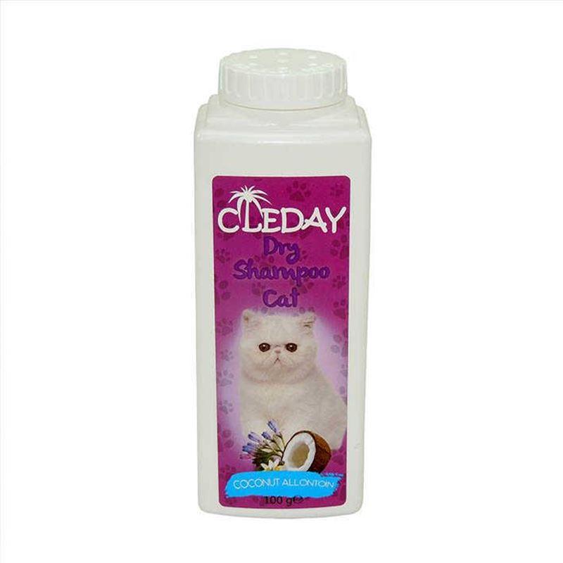 Cleday Dry Shampoo Coconut Toz Kedi Şampuanı 100 gr