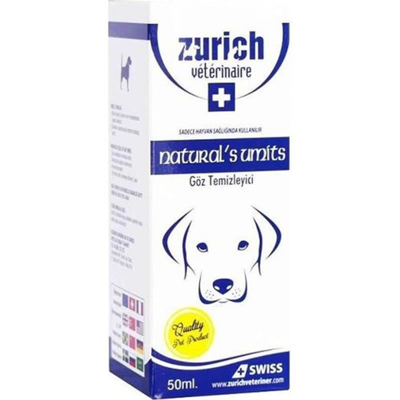 Zurich Köpekler İçin Göz Temizleyici 50 Ml