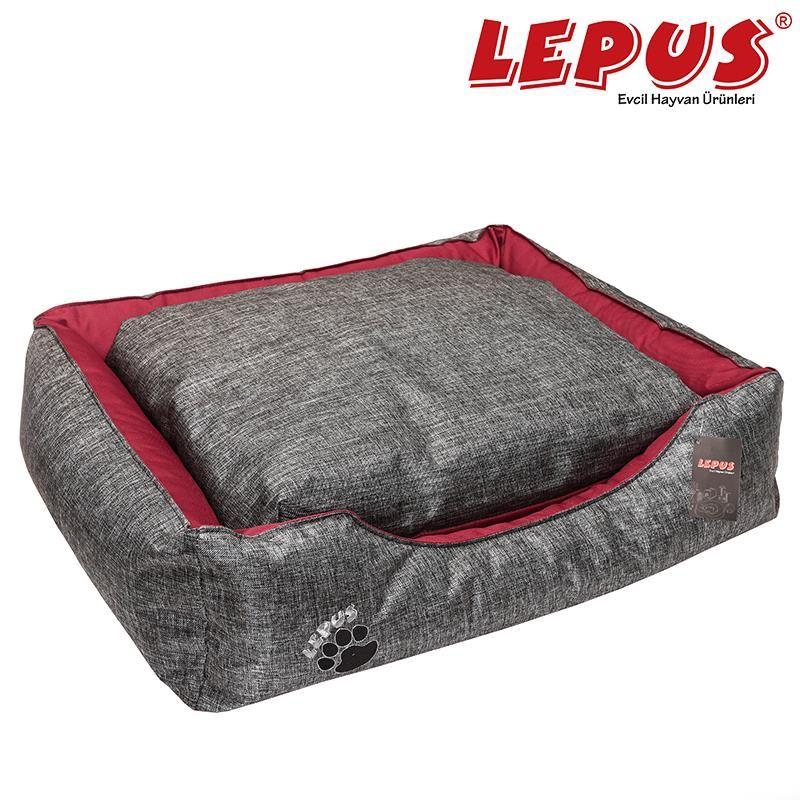 Lepus Dış Mekan Köpek Yatağı Medium Gri