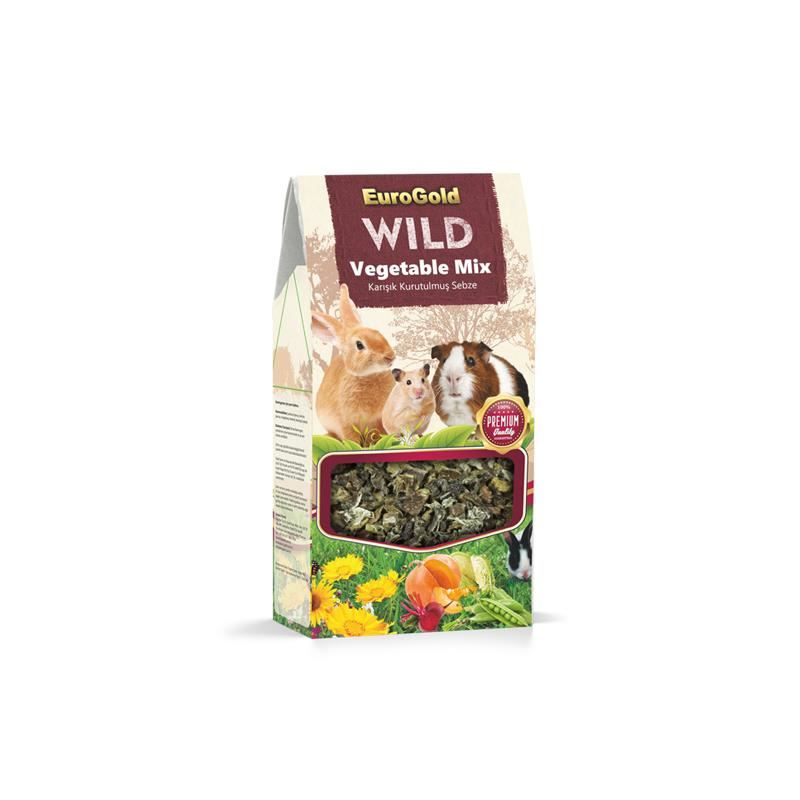 EuroGold Wild Fruit Mix Kurutulmuş Karışık Sebze 80 Gr