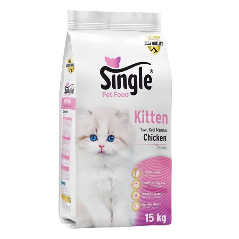 Single Kitten Yavru Kedi Maması 15 Kg