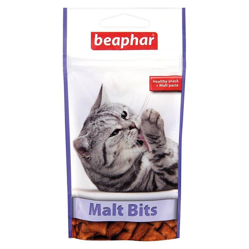 Beaphar Malt Bits Tüy Yumağı Önleyici Kedi Ödül Tableti 35 Gr