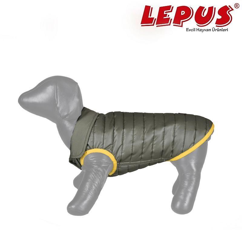 Lepus Küçük Irk Köpek Anorak Yelek Haki 2XLarge