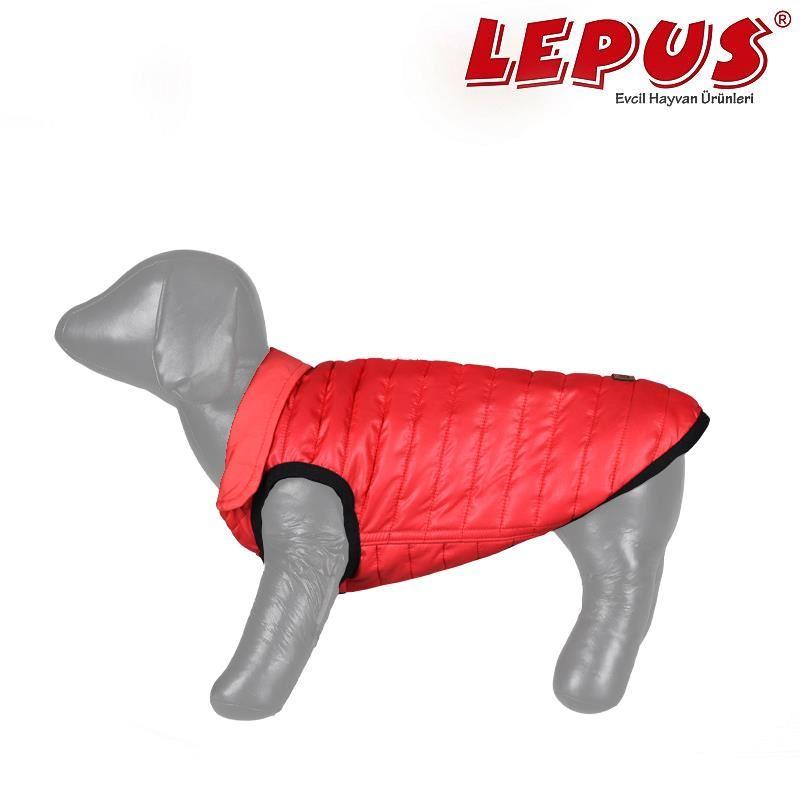 Lepus Küçük Irk Köpek Anorak Yelek Kırmızı 2XLarge