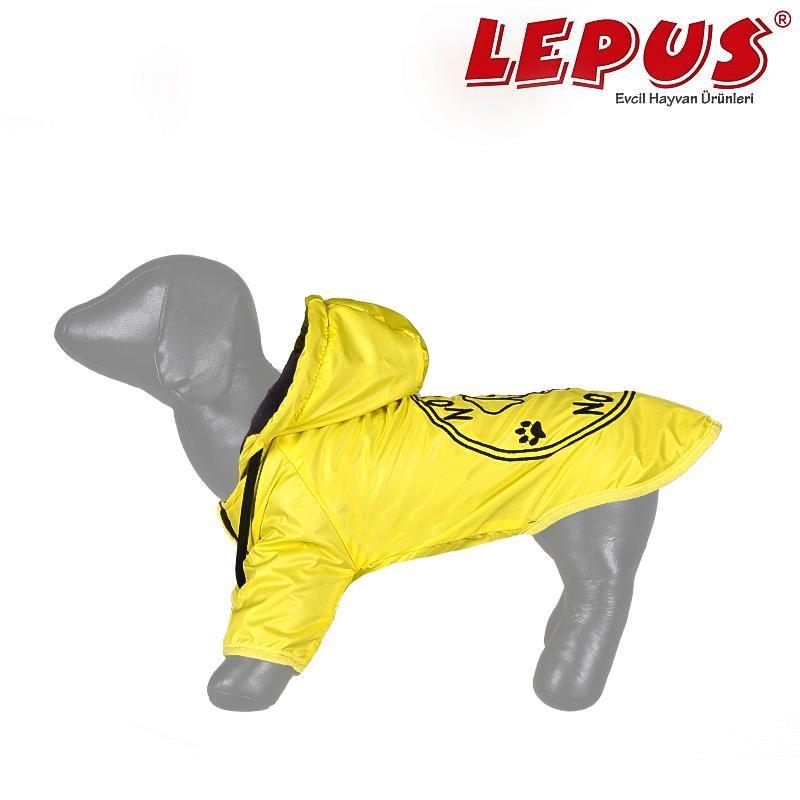 Lepus Küçük Irk Köpek Yağmurluk Mont Sarı Large