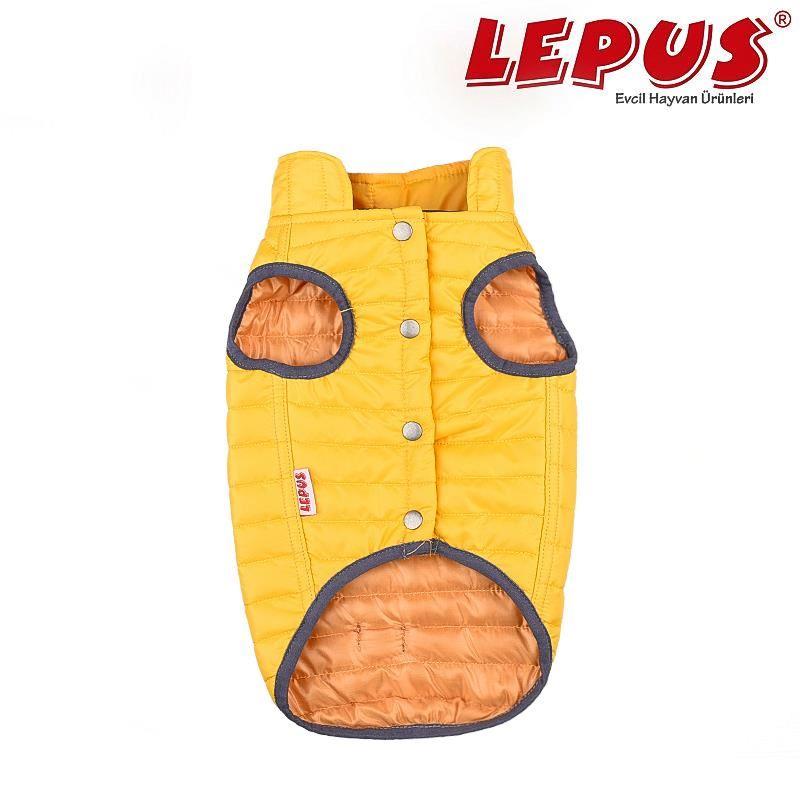 Lepus Küçük Irk Köpek Anorak Yelek Sarı Medium