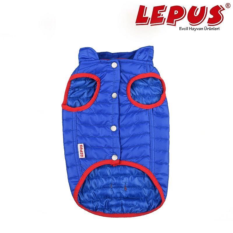 Lepus Küçük Irk Köpek Anorak Yelek Sax Mavi 2XLarge