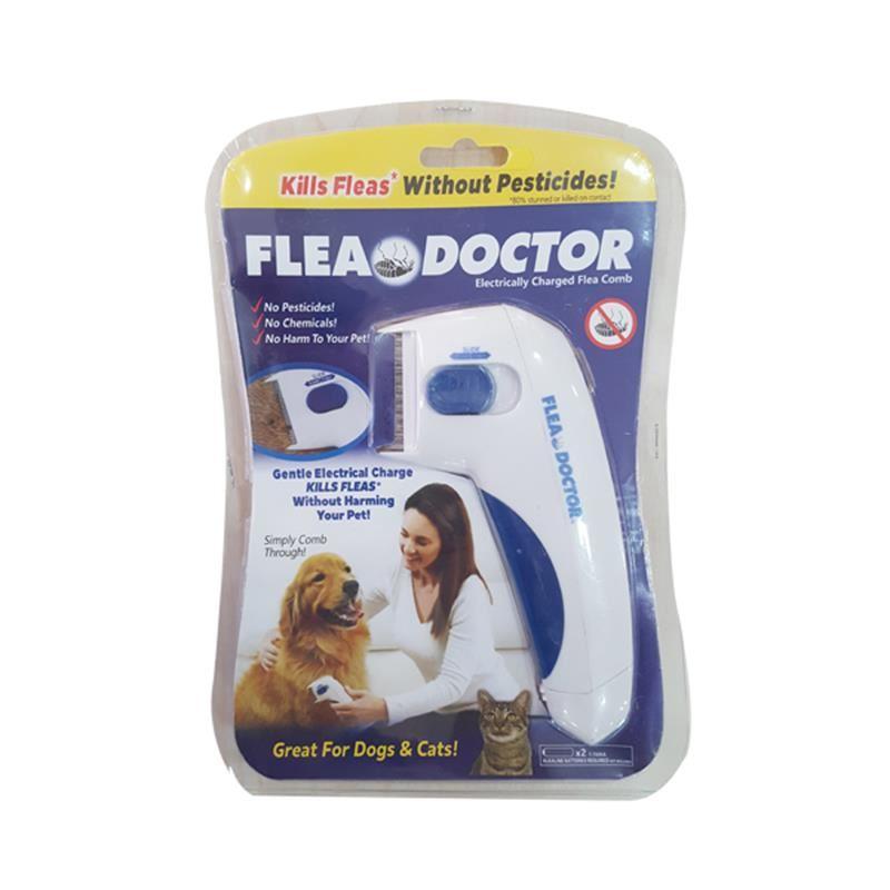 Flea Doctor Kedi Köpek Pilli Pire Tarağı