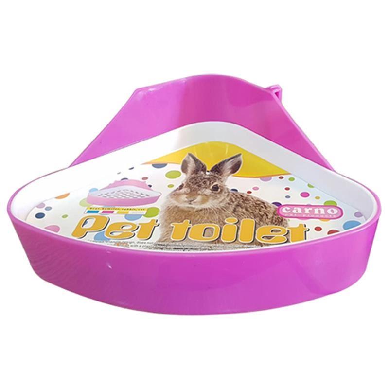 Carno Tavşan Tuvaleti Üçgen Pembe