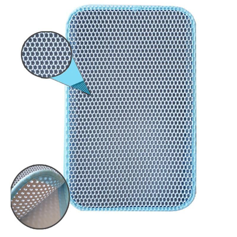 Pets Elekli Kum Toplama Paspası Mavi 58x76 Cm