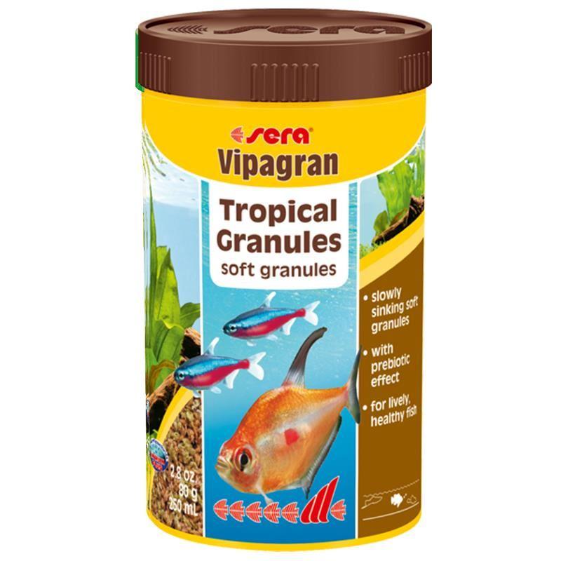 Sera Vipagran Tropikal Balık Temel Yemi Granül 250Ml 80Gr