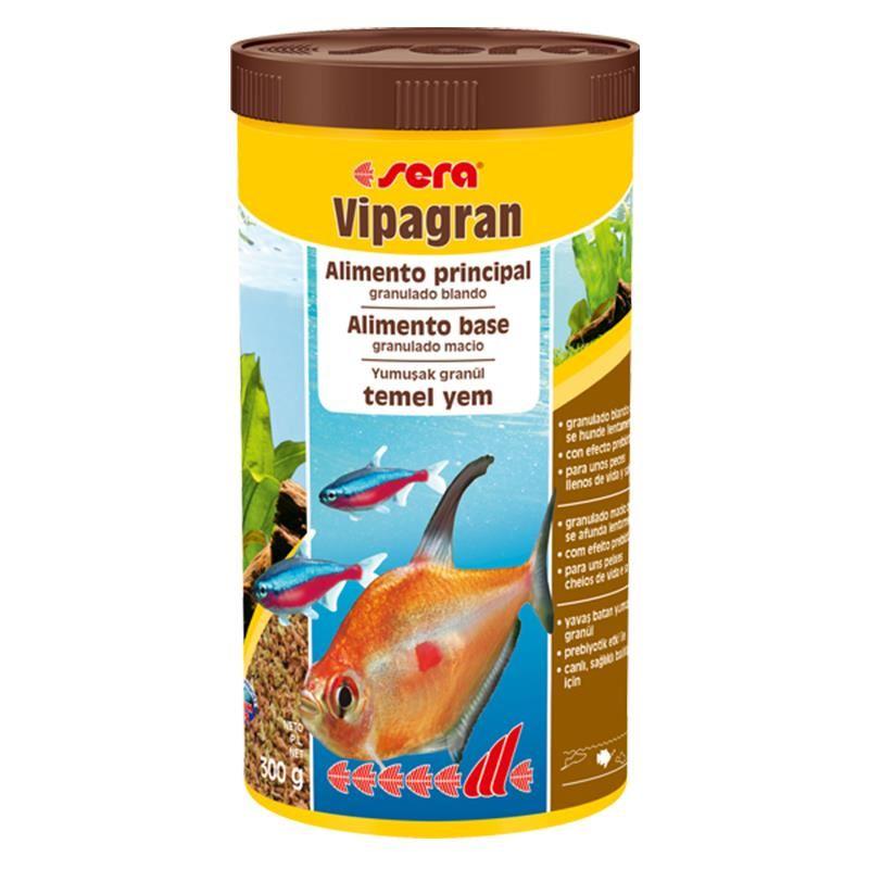 Sera Vipagran Tropikal Balık Temel Yemi Granül 1000Ml 300Gr