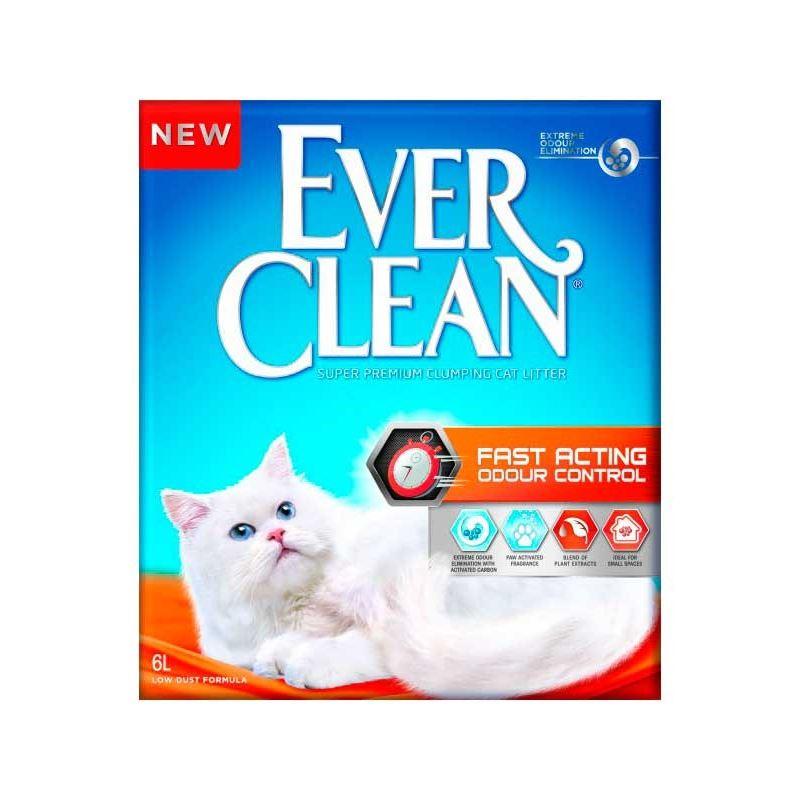 Ever Clean Fast Acting Hızlı Koku Emen Kedi Kumu 6 Lt