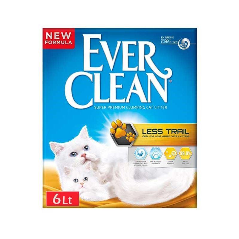Ever Clean Less Track / Patilere Yapışmayan Kedi Kumu 6 lt