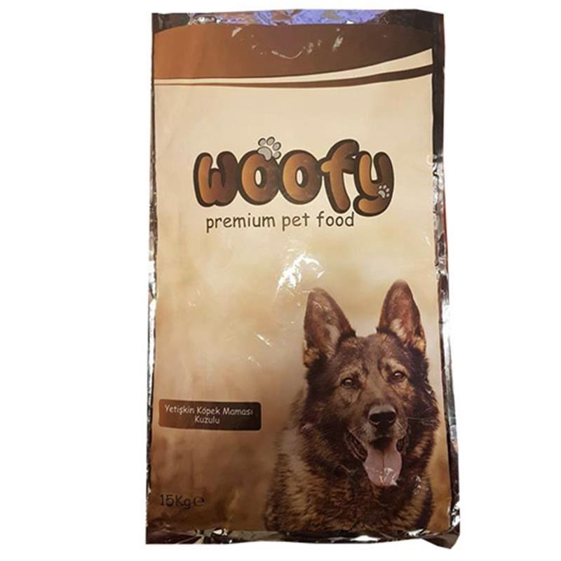 Woofy Kuzulu Yetişkin Köpek Maması 15 Kg