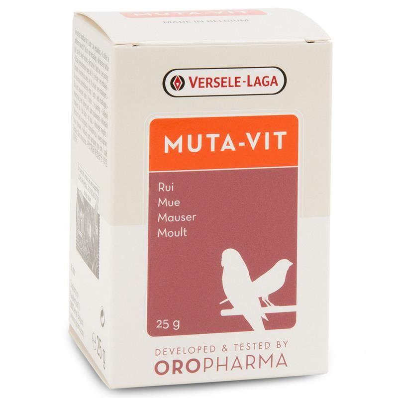 Versele Laga Muta-Vit Kuş Tüylenme Vitamini 25 Gr
