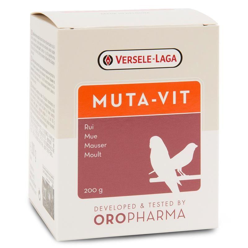 Versele Laga Muta-Vit Kuş Tüylenme Vitamini 200 Gr