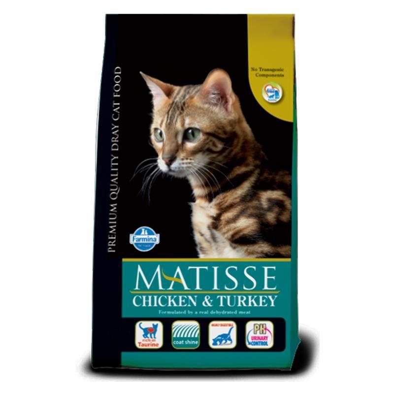 Matisse Tavuklu Hindili Yetişkin Kedi Maması 1,5 Kg