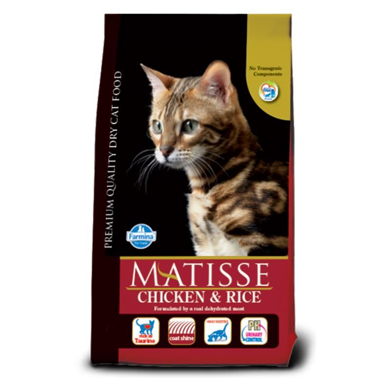 Matisse Tavuklu Pirinçli Yetişkin Kuru Kedi Maması 1,5 Kg