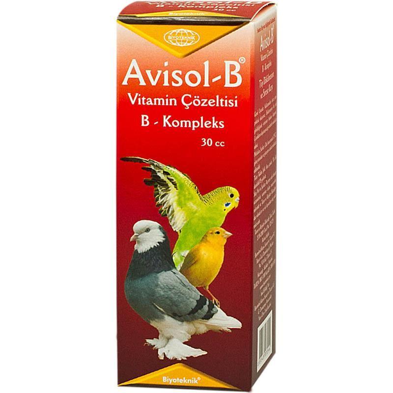 Biyo Avisol-B Kuşlar İçin Tüy Dökülmesine Karşı Vitamin