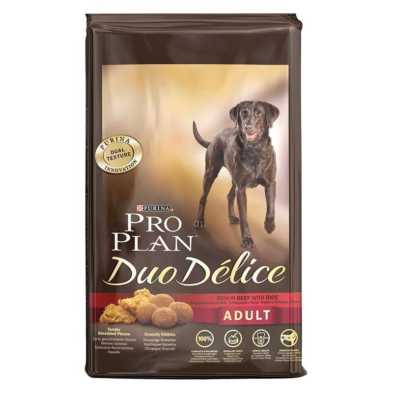 Proplan Duo Delice Biftekli Yetişkin Köpek Maması 2.5 Kg