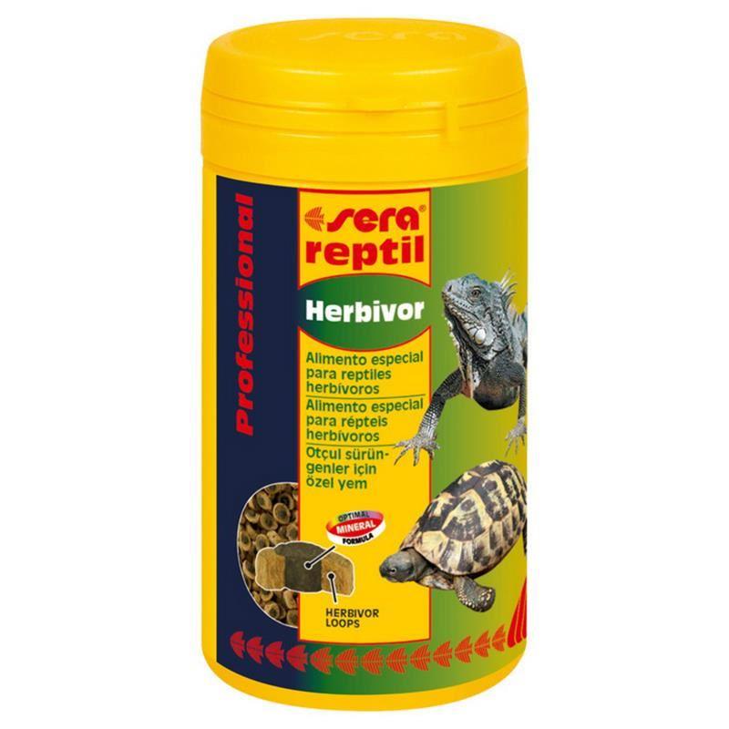 Sera Reptil Professional Herbivor Otçul Kaplumbağa ve Sürüngen Yemi 250 Ml