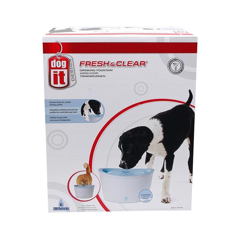 Dogit 91400 Fresh&Clear Kedi ve Köpek Otomatik Su Sebili 6 Lt