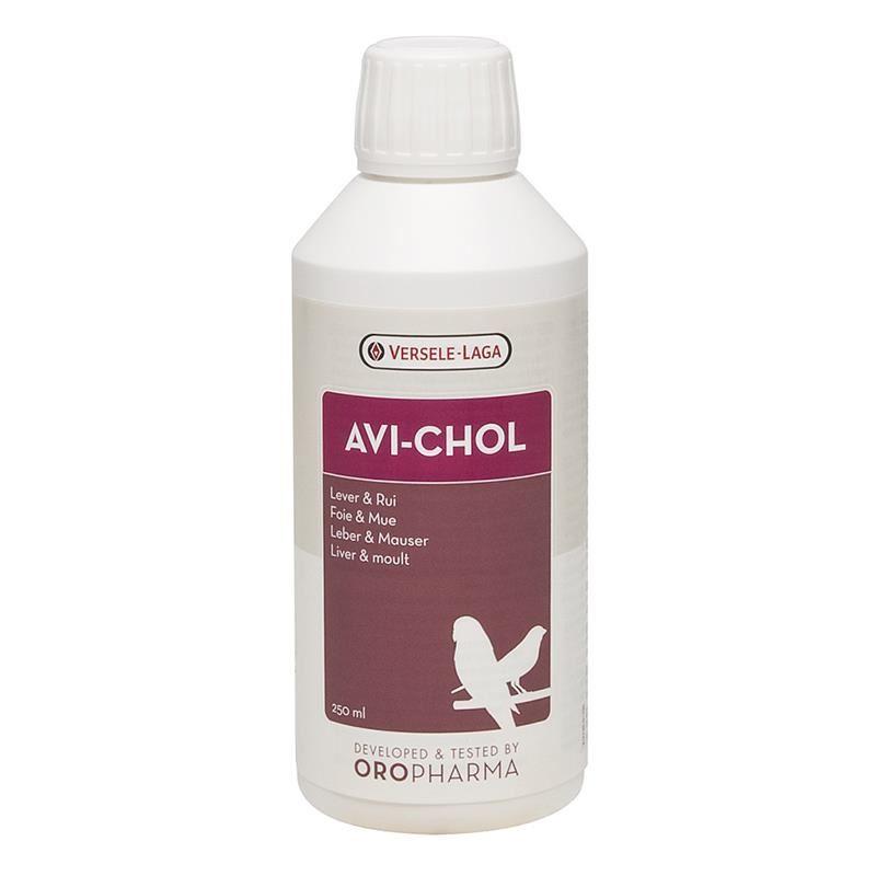Versele-Laga Avi-Chol Kuşlar İçin Karaciğer Koruyucu Vitamin 250 Ml