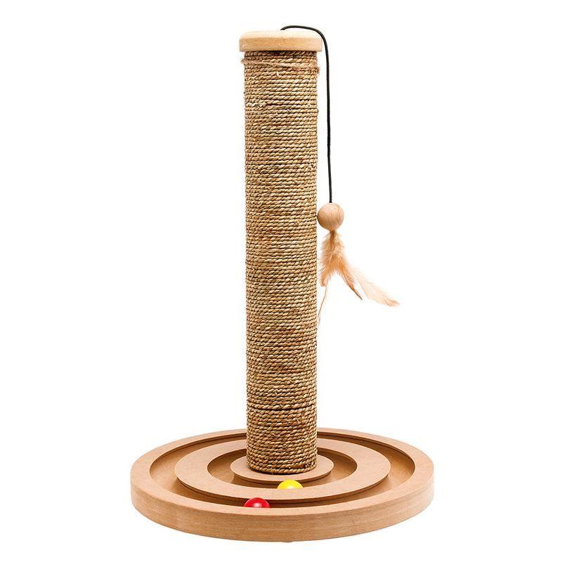 Karlie Oyuncaklı Kedi Tırmalaması 44x30 Cm