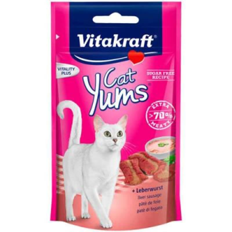 Vitakraft Cat Yums Liver Ciğerli Kedi Ödülü 40 Gr