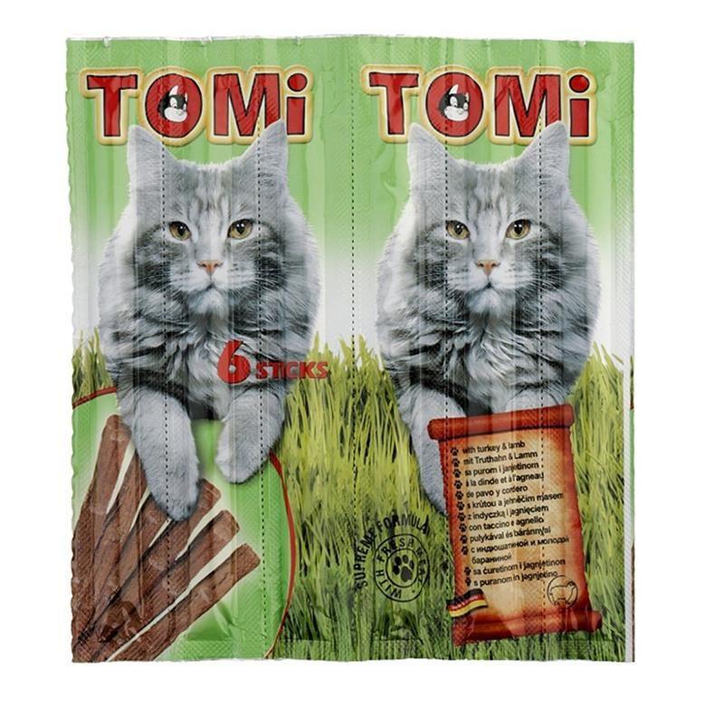 Tomi Kuzulu ve Hindili Kedi Çubuk Ödül 6 x 25 Gr