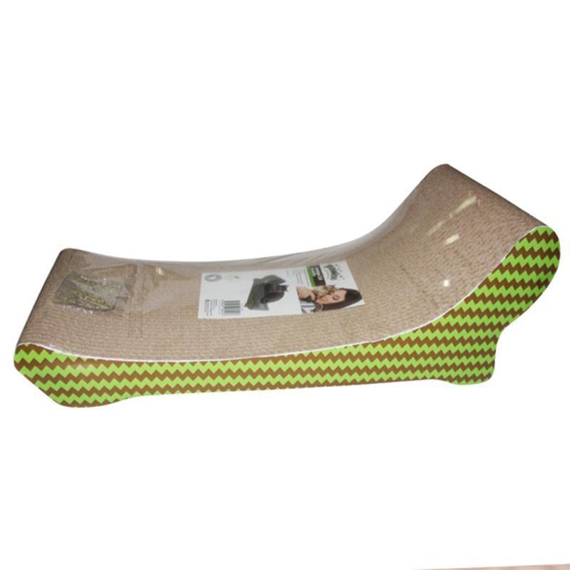 Pawise Şezlong Şekilli Karton Kedi Tırmalama 47 cm