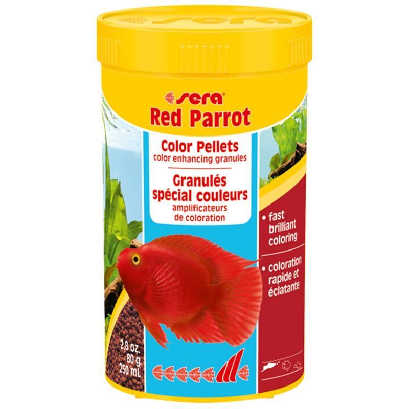 Sera Red Parrot 80 Gr 250 Ml
