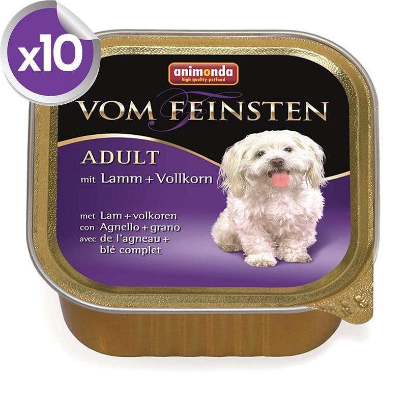 Animonda Kuzu Etli Yetişkin Köpek Konservesi 150 Gr X 10