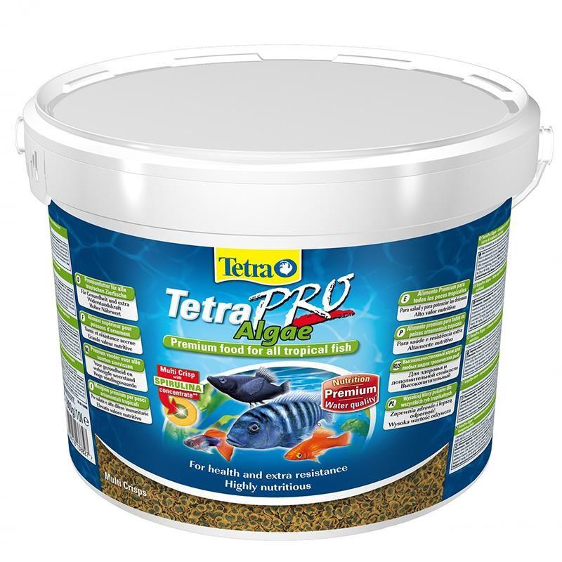 Tetra Pro Algae Crisp Balık Yemi 10 Lt/ 1900 Gr Kova