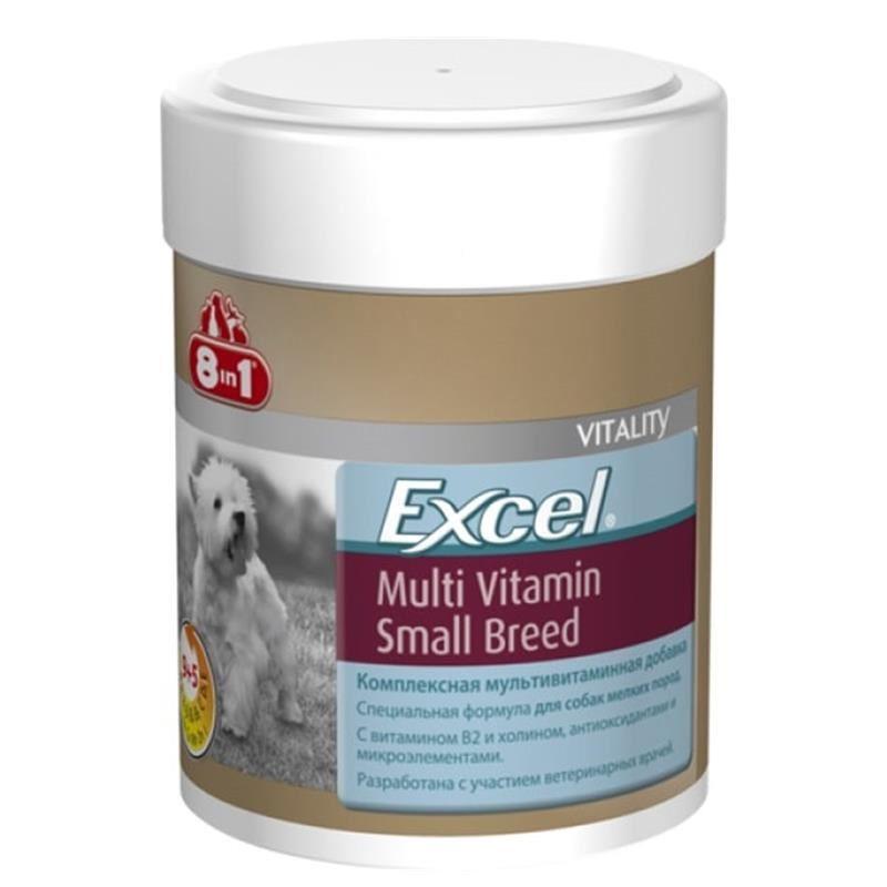 8in1 Excel Yetişkin Küçük Irk Köpek Multivitamin 70 Tablet