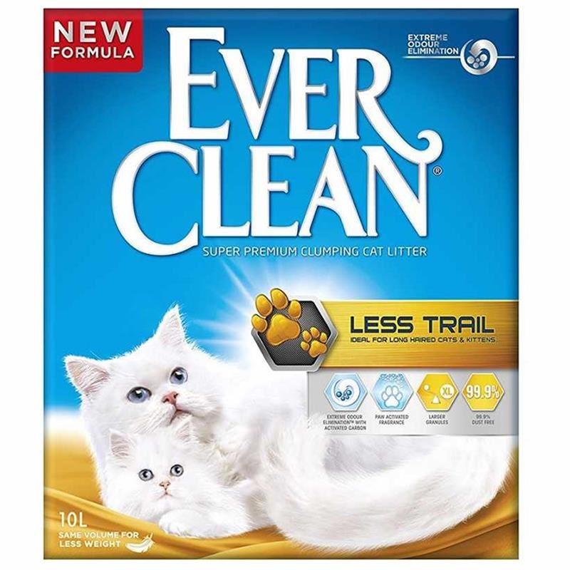 Ever Clean Less Trail / Patilere Yapışmayan Kedi Kumu 10 Lt