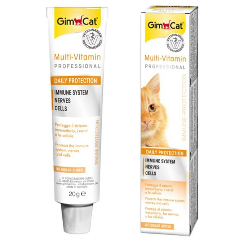 GimCat Kediler İçin Multi - Vitamin 20 Gr